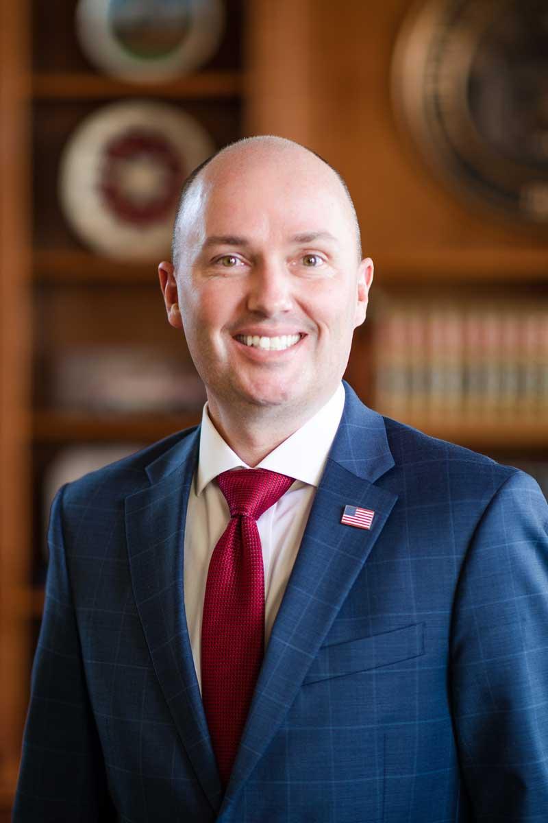 Utah Governor Spencer J Cox